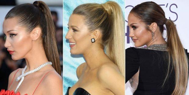 smooth sleek ponytails 1508421430 621x311 - Penteados Verão 2018 Tendências