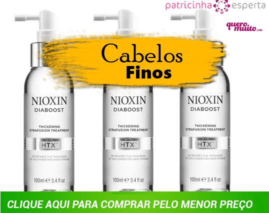fortalecedor - Nioxin para Engrossar Fios Finos