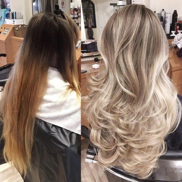 2914a35ef77a09e1d51db895e298907d heavy blonde highlights blonde foils 621x621 - Wella Blondor Pó Descolorante: Como funciona, Como Usar, Antes Depois