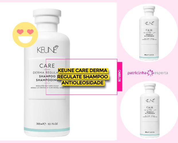 Keune Care Derma Regulate Shampoo Antioleosidade - Shampoos Para Cabelos Oleosos: Os Melhores
