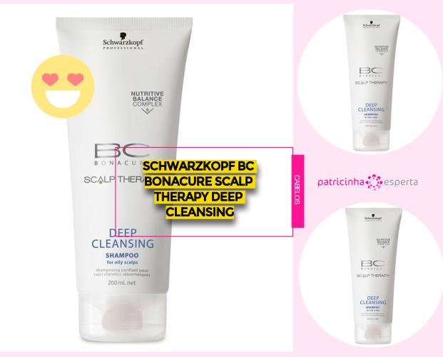 Schwarzkopf Bc Bonacure Scalp Therapy Deep Cleansing - Shampoos Para Cabelos Oleosos: Os Melhores