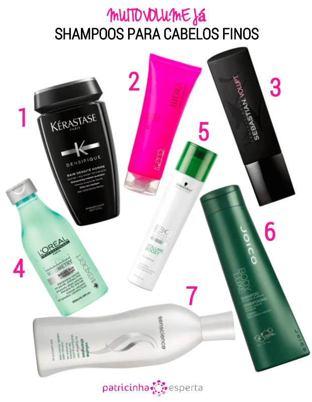 shampoos para cabelos finos - Cabelos finos e ralos: O que fazer?