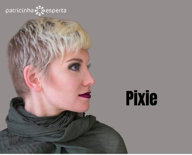 woman blonde fashion hairstyle haircut makeup in grey khaki shades picture id493479836 - Cabelo loiro 2018: Tendências em Cortes, Cores e Mechas