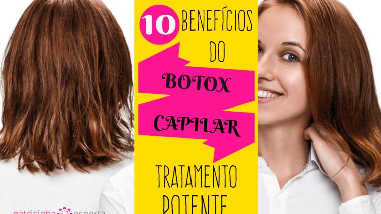 botox capilar cabelo - Botox capilar: o que é? Como fazer e benefícios