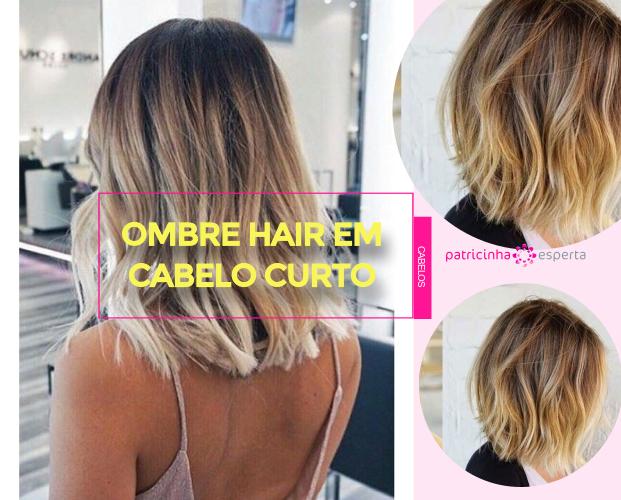 Ombre Hair Em Cabelo Curto - Ombre Hair Em Cabelo Curto: Fotos Inspirações, Tendências de Cores