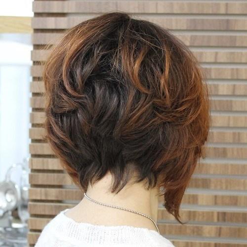 8 choppy bob for thick hair - Cabelos Curtos para Senhoras: Ideias Pra Copiar Já
