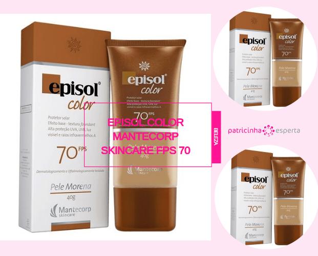 Episol Color Mantecorp Skincare Fps 70 - Melhor Protetor Solar Para o Rosto: Marcas, Diferenças, Preços