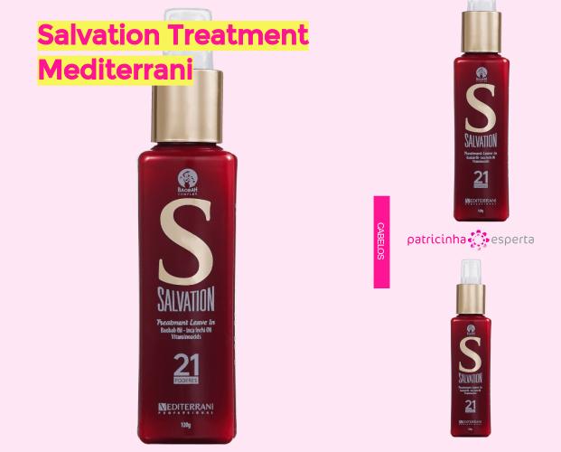 Salvation Treatment Mediterrani - BB Cream Para Cabelo ✅ Qual O Melhor? Como Usar, Como Age.