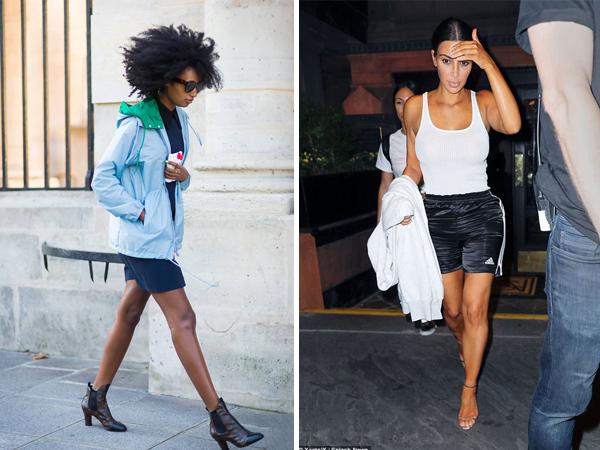shorts esportivos com saltos - Shorts do Verão 2020: Tendências, Looks Para Copiar