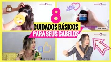 8 cuidados cabelos - 8 Cuidados Para Seus Cabelos