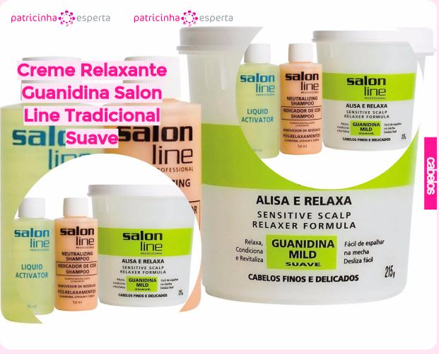 Creme Relaxante Guanidina Salon Line Tradicional Suave - Guanidina: Como Funciona, Compatibilidade, Melhores