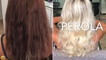 cabelo platinado como fazer - Cabelo Platinado: Como fazer? Tutorial Em Vídeo, Matização Antes e Depois