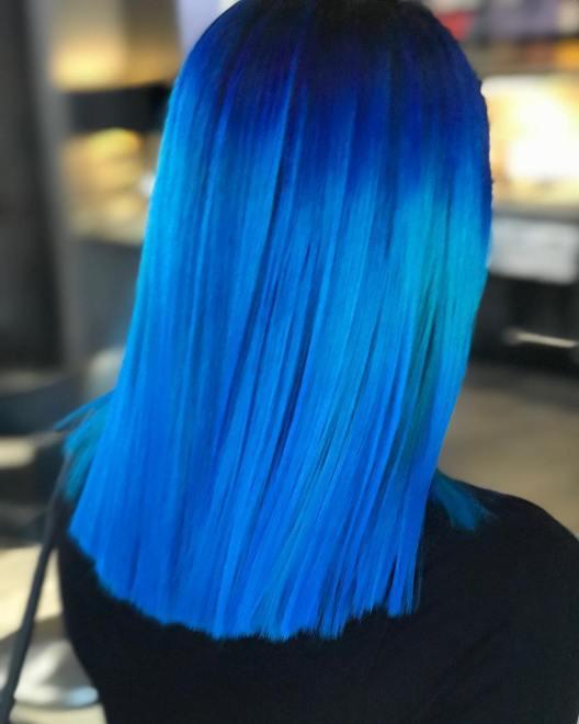 52188238 1061677520709424 5231188858657465120 n 528x660 - Cabelo Azul: Como Pintar Em Casa, Fotos Inspirações, Como Cuidar