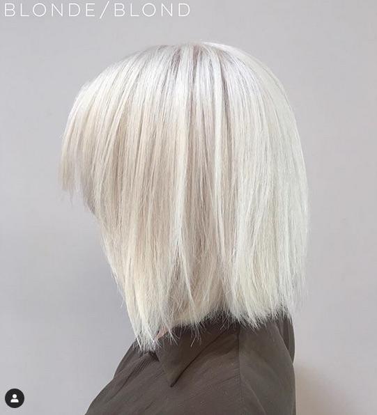 blond - Cabelo Platinado Curto 2019/2020: Tendências de Cortes, Cores, Fotos