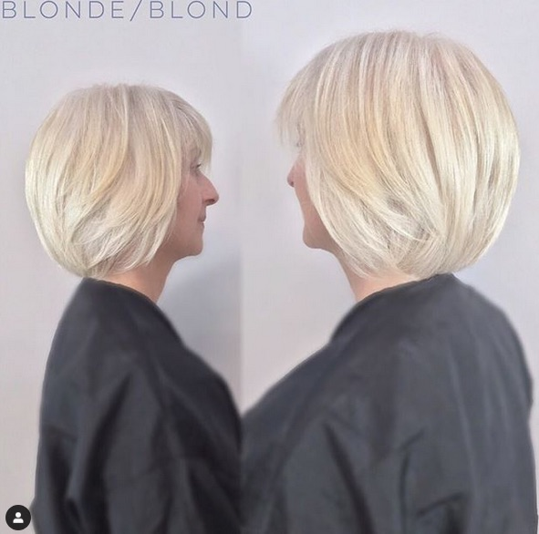 cabelo platinado 6 - Cabelo Platinado Curto 2019/2020: Tendências de Cortes, Cores, Fotos