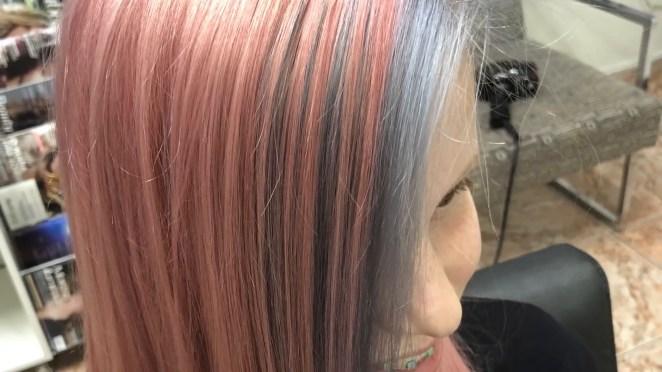 IMG 0463 - Cabelo Rosa Dourado: Como Ter com Coloração Passo A Passo