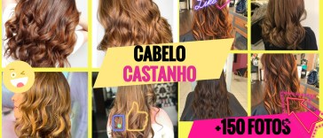 cabelo castanho - Trending