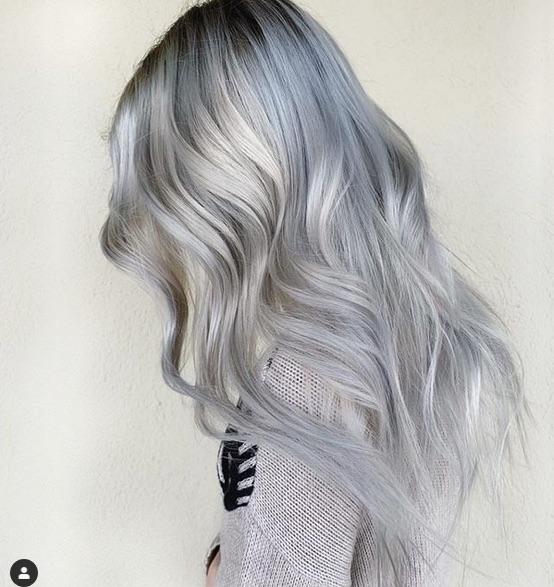cabelo loiro acinzentado - Cabelo Loiro Acinzentado: 80 Fotos + Minhas Dicas de Cuidados