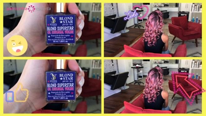 cabelo rose gold1 - Como Pintar o Cabelo de Rosa Em Casa Passo A Passo