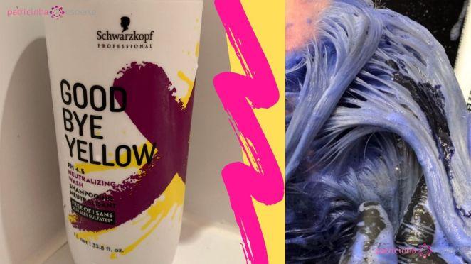 Como Escolher o Shampoo Certo - Shampoo Goodbye Yellow Schwarzkopf Resenha