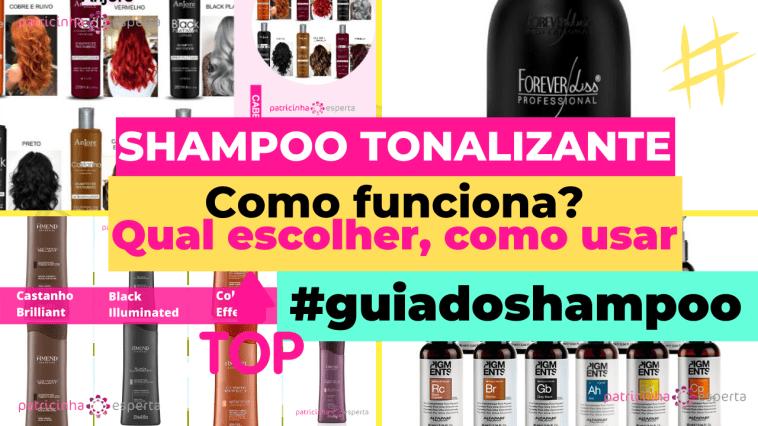 Como Escolher o Shampoo Certo 6 - Shampoo Tonalizante ✅ Como Funciona, Qual o Melhor? Como Usar