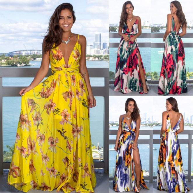HTB1SHy0dvWG3KVjSZFgq6zTspXa2 - Vestidos Estampados 2020: 70 Looks Inspirações, Trends