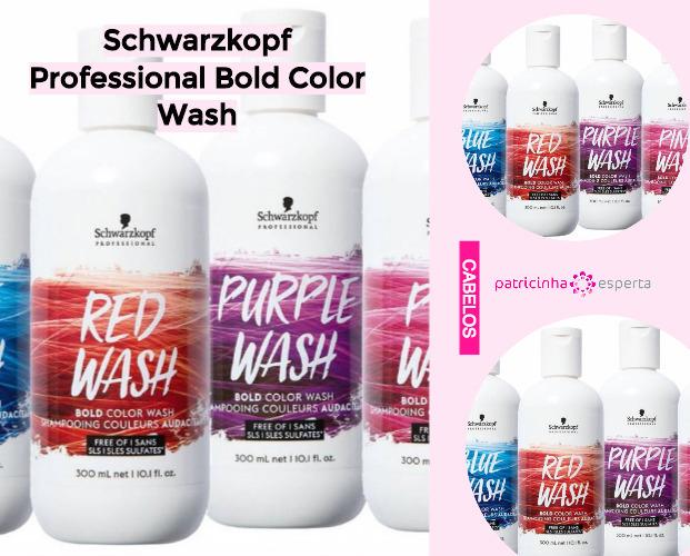 Schwarzkopf Professional Bold Color Wash - Shampoo Tonalizante ✅ Como Funciona, Qual o Melhor? Como Usar