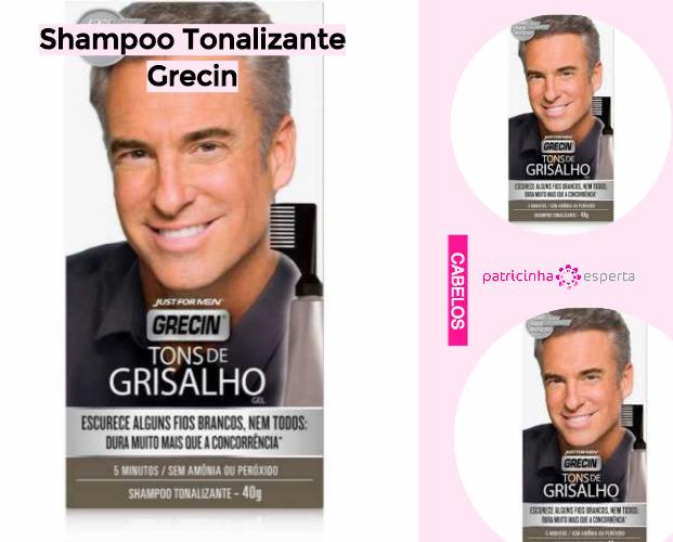 Shampoo Tonalizante Grecin1 - Shampoo Tonalizante ✅ Como Funciona, Qual o Melhor? Como Usar