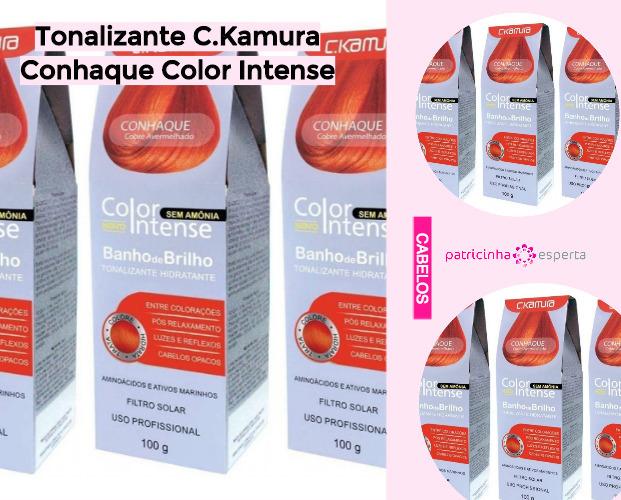 Tonalizante CKamura Conhaque Color Intense - Shampoo Tonalizante ✅ Como Funciona, Qual o Melhor? Como Usar