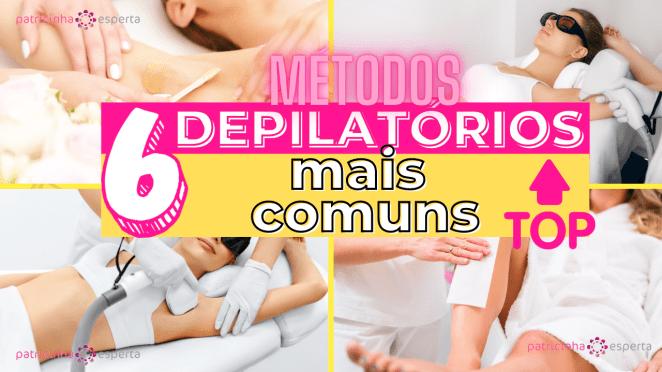 Como Escolher o Shampoo Certo 3 1 - 6 Métodos Depilatórios: Qual é o Melhor? Benefícios