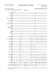 Página de la edición crítica