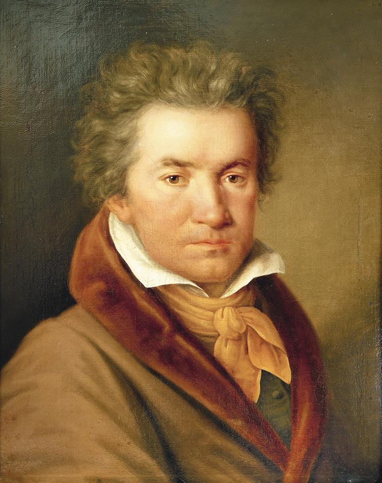 Retrato de Ludwig van Beethoven por Joseph Willibrord Mähler (1778-1860), 1815