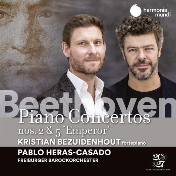 """24 - Kristian Bezuidenhout, Freiburger Barockorchester/Pablo Heras-Casado - Beethoven: Piano Concertos Nos. 2 & 5 """"Emperor"""""""