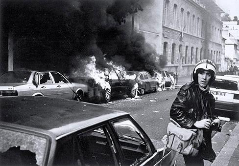 Manifestation contre le contrat d'insertion professionnelle (CIP) 1994.