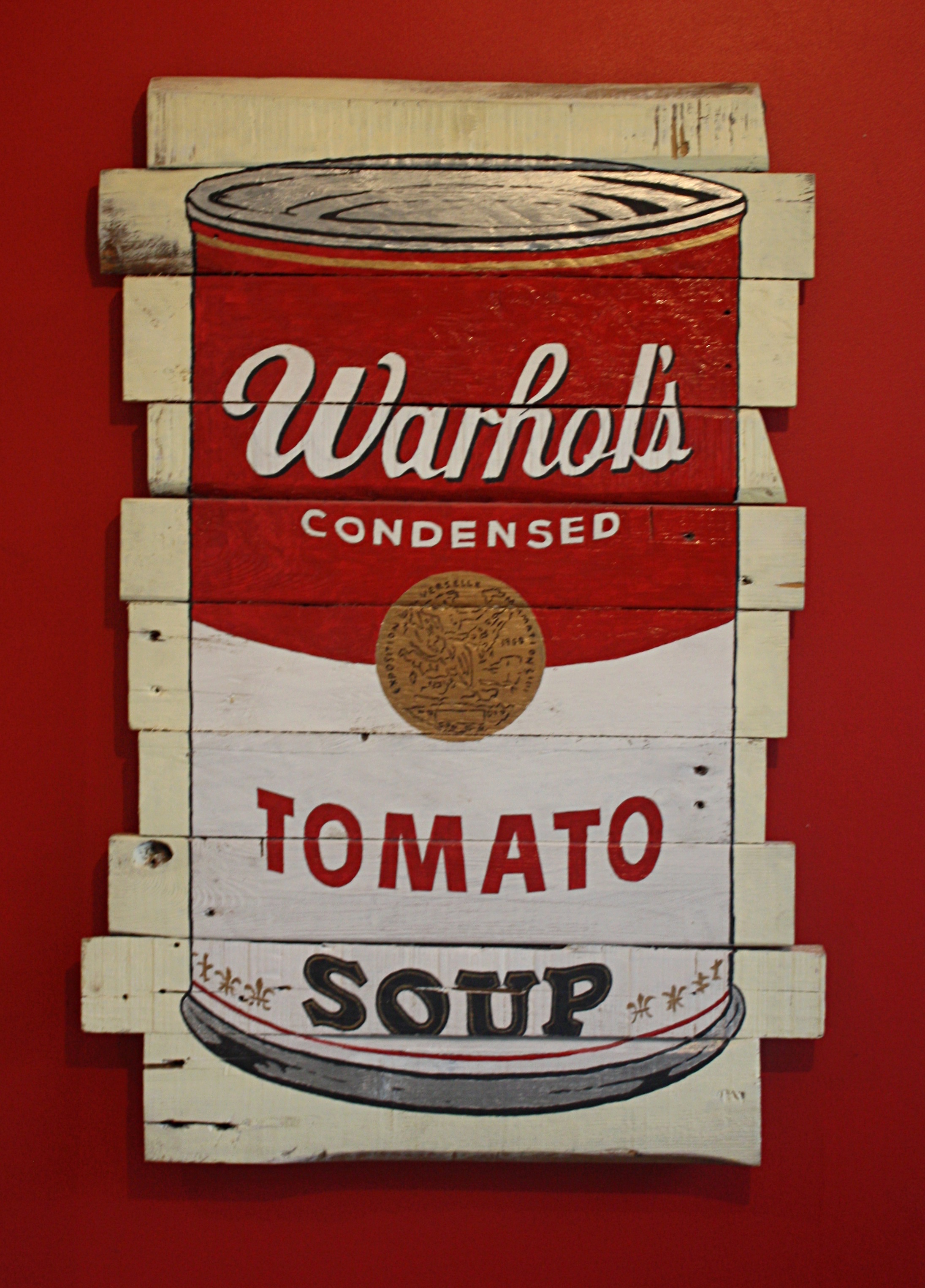 . . .only at War'lmart wood wall art