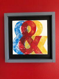 three ampersands