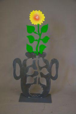 "Blumenvase ""Sonnenblume"" (M1015)"