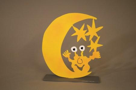 Monster Mond und Sterne