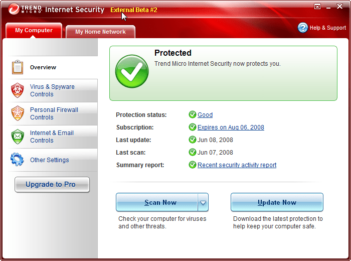 Trend Micro Internet Security - Free download and software ...