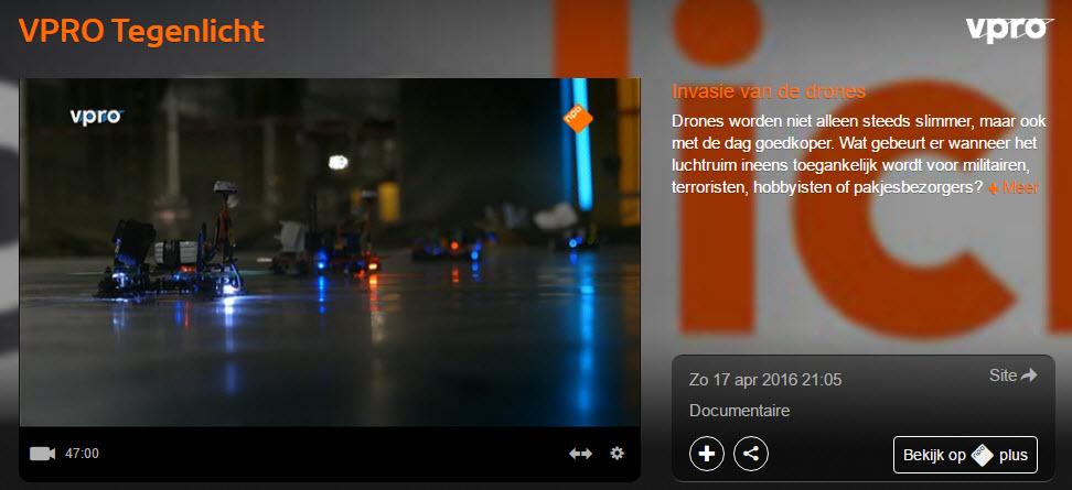 VPRO Tegenlicht - Drones