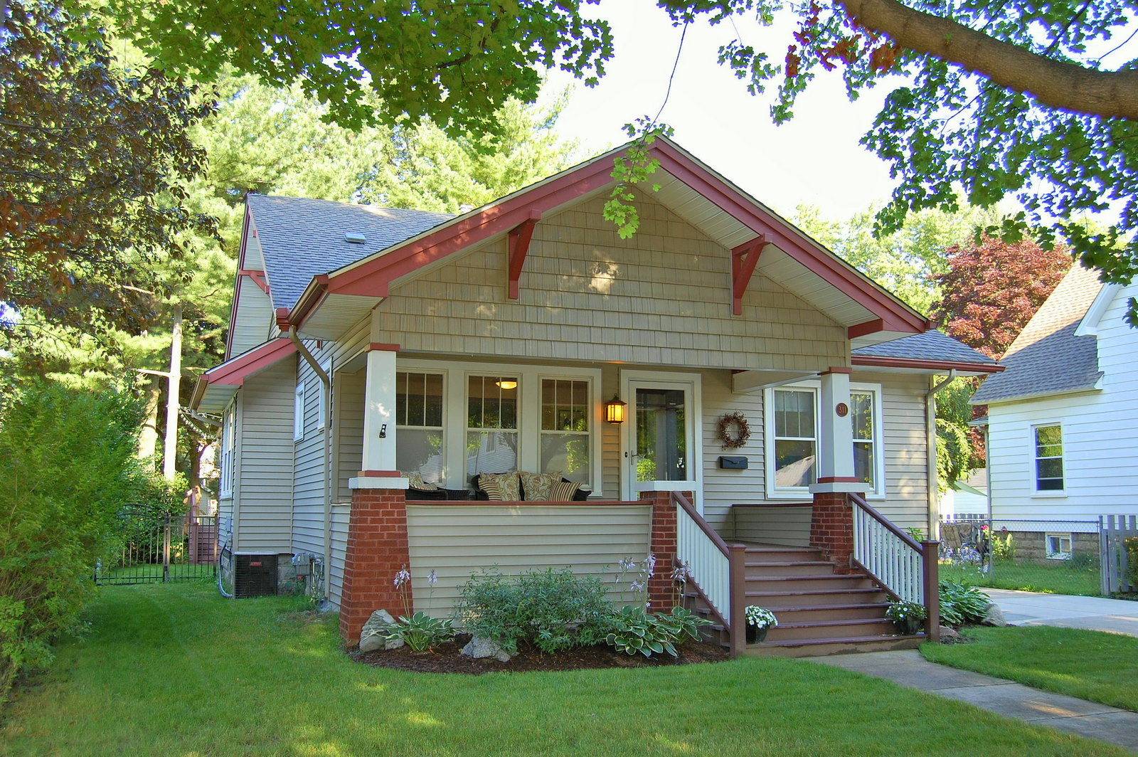 Sold 311 . Harvey St. Fully Updated Craftsman Style