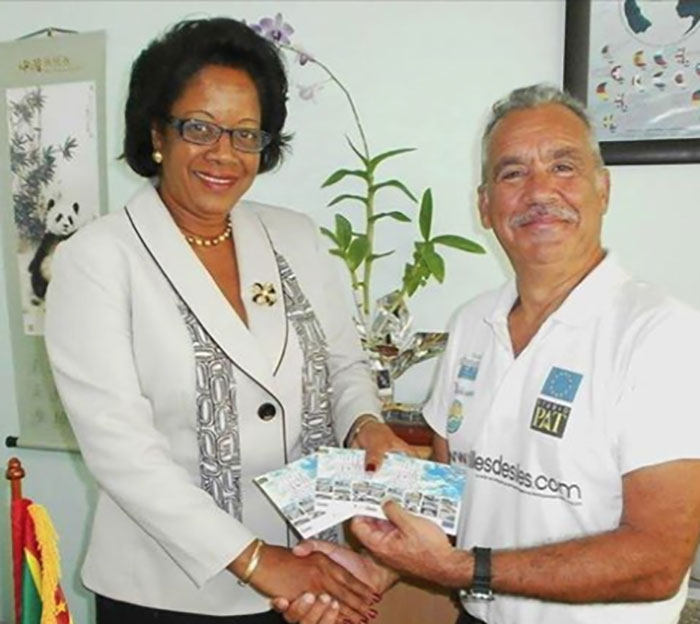 Yolande-bain-horsford-ministre-du-tourisme
