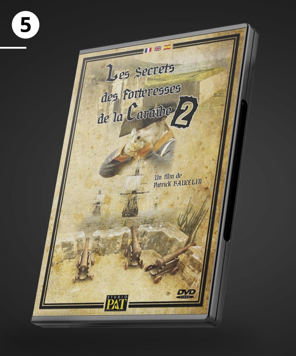 """DVD du film """"Le secret des forteresses de la Caraïbe 2"""""""