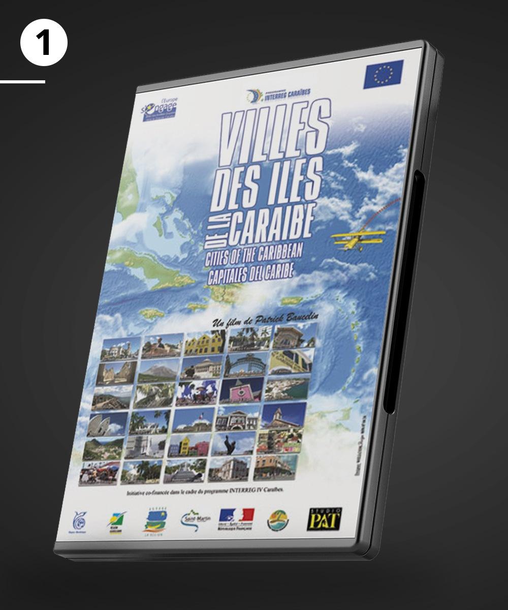 """DVD du film """"Villes des iles de la Caraibe"""""""