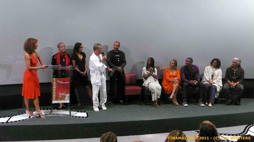 Remise du Grand Prix du Documentaire à Cinamazonia 2011