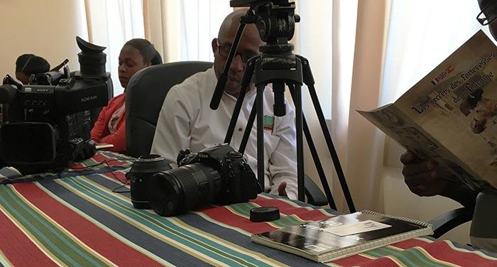 Conférence de presse pour le film