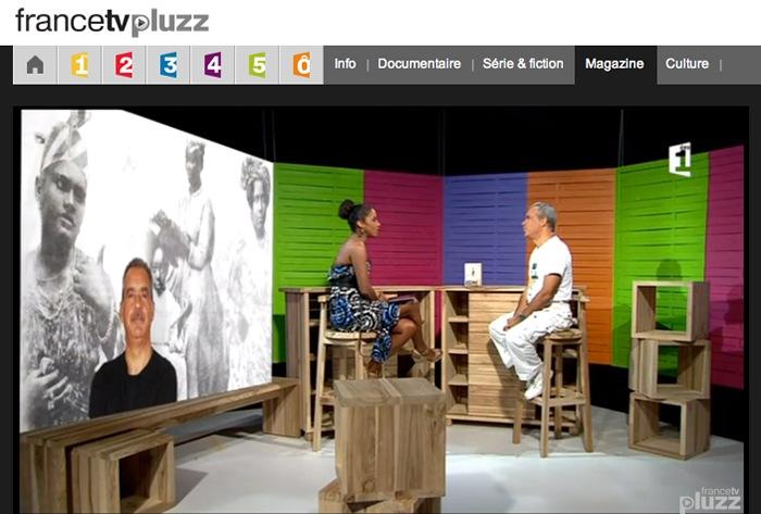 Emission Télé Martinique avec Patricia TINE