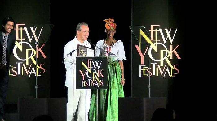 Prix au New York Festival pour le film