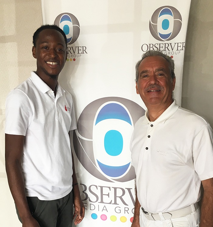 Patrick Baucelin avec KADEEM Joseph, Observer Média Group