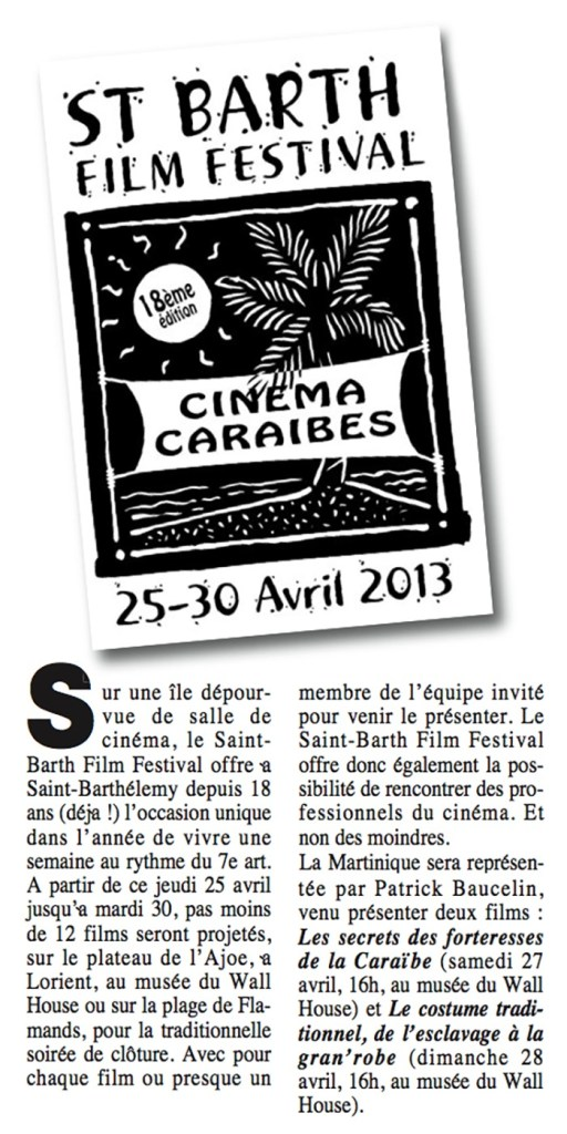Article du 25 avril 2013